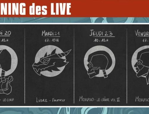 Formations au dessin vidéo et en Live! délivrées par Golem