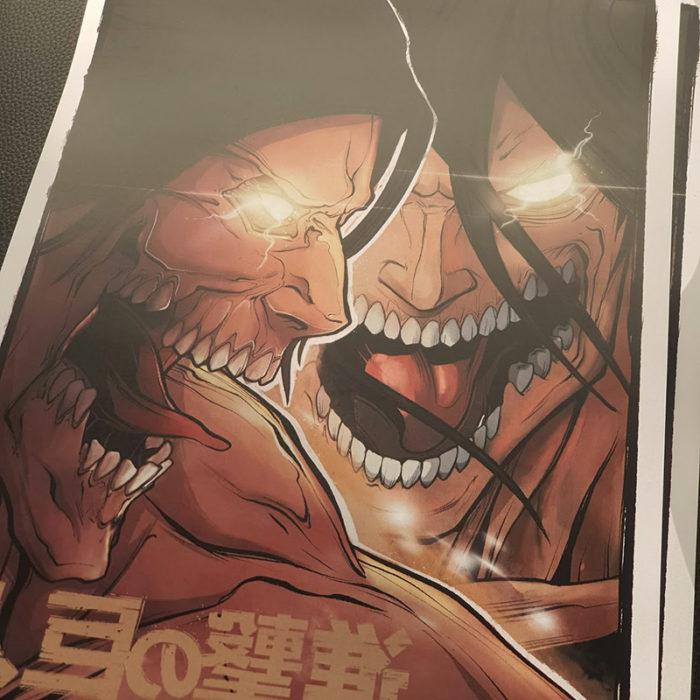 Le Titan Assaillant (japonais : 進撃の巨人, Hepburn : Shingeki no Kyojin?) est un Titan Primordial connu pour avoir toujours combattu pour la liberté d'Eldia au fil des générations. Il est actuellement en possession d'Eren Jäger.
